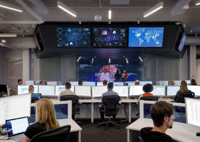 Microsoft Cyber Defense Operations Center