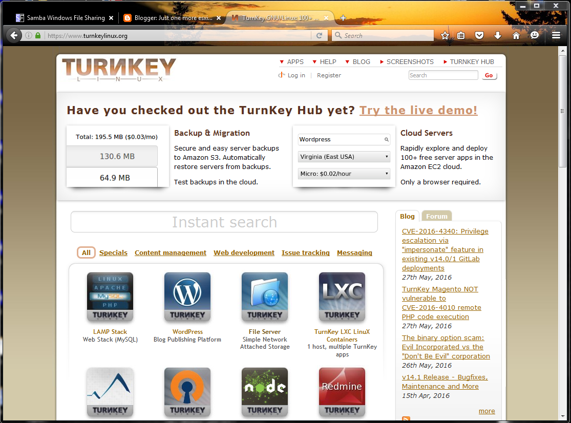 turnkey web